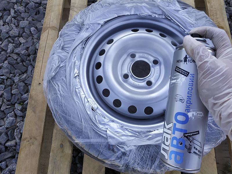 автомобильный лак для реставрации дисков